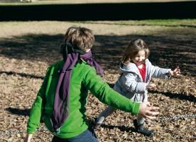 5 Divertidos juegos en la naturaleza con niños