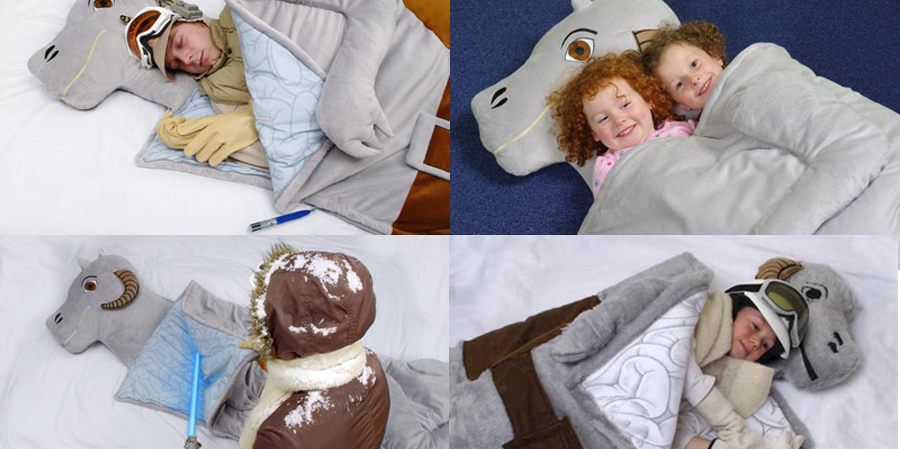 gadget aventura niños - saco de dormir star wars