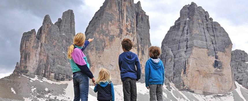 Alpes con niños: un viaje salvaje (I)