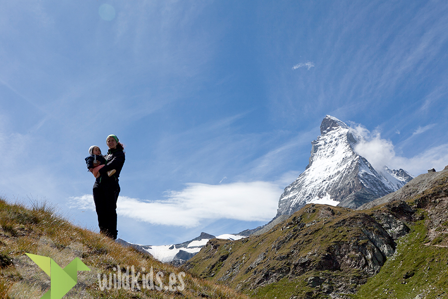 Vistas del Matterhorn desde Schwarsee