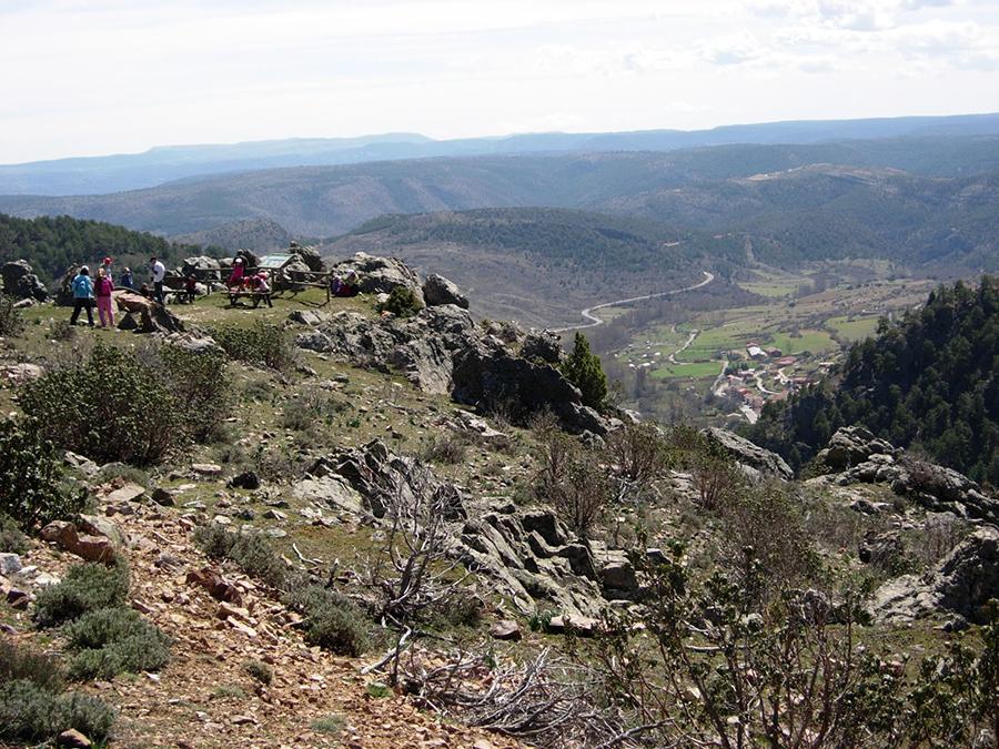 Mirador del Corral de Mingón. Foto: Club32