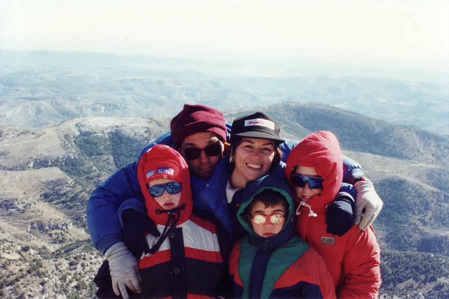 Foto: Cumbres en familia