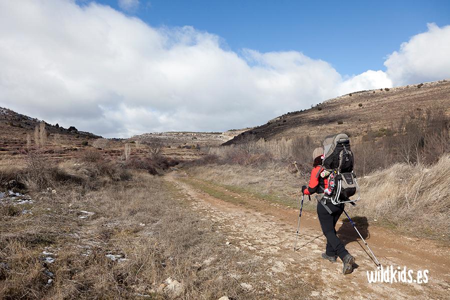 Inicio de la ruta desde Arroyo Cerezo