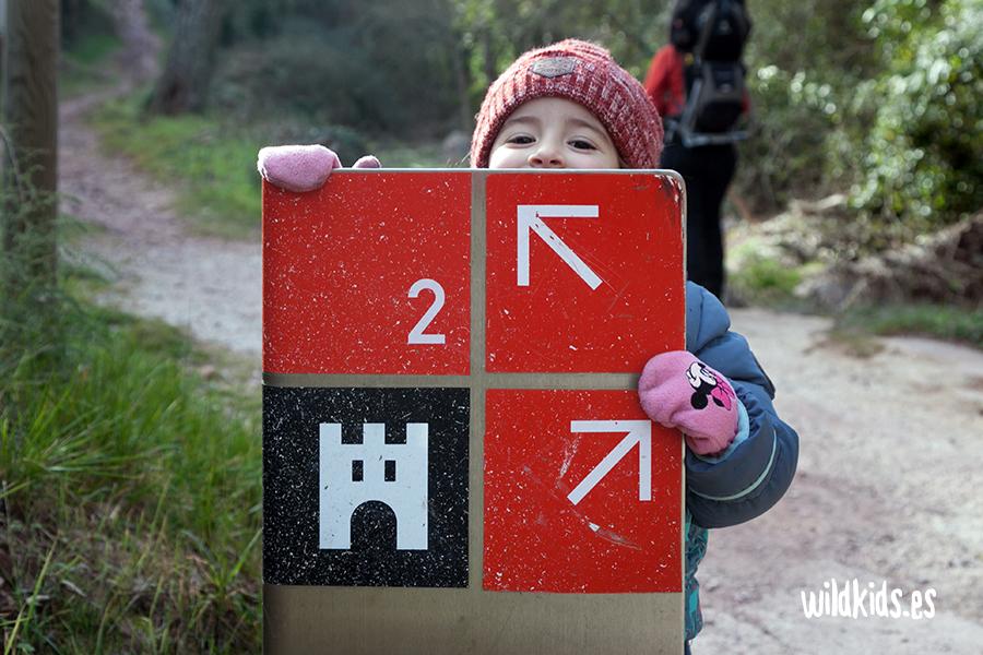 Indicaciones del Parque Natural de la Sierra de Espadán