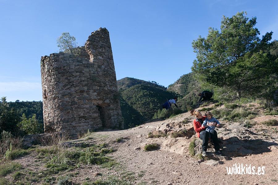 Torre del homenaje del Castillo de Aín