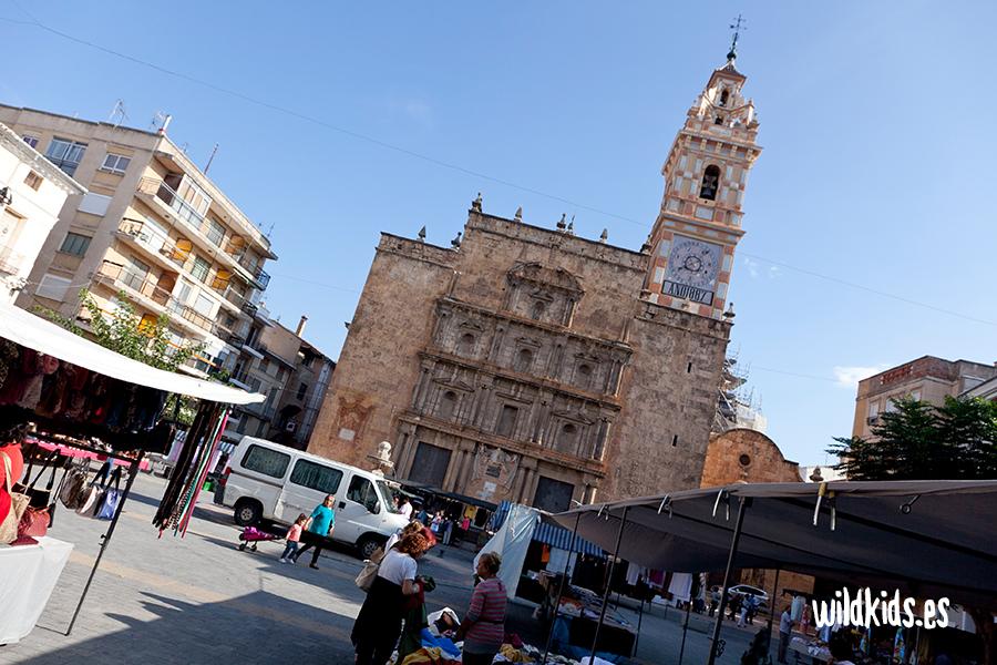 Plaza Mayor de Chelva