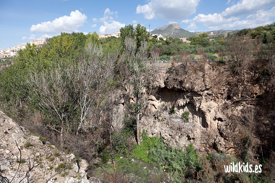 Las cuevas del Montecico