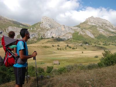 El valle del lago en el Parque Natural de Somiedo