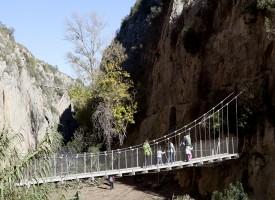 La ruta de los pantaneros en Chulilla