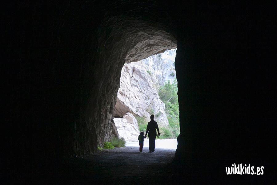 Túnel de acceso a la Foz de Lumbier