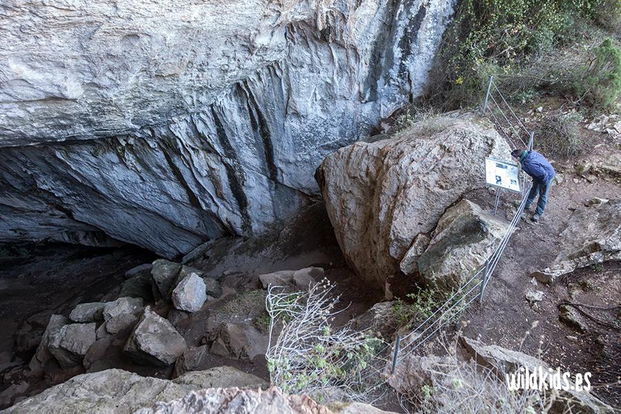 Sendero familiar de Montanejos. Cueva Negra