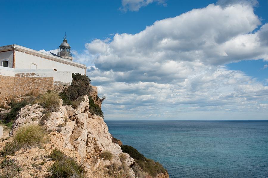Excursión con niños en Alicante. Faro del Albir
