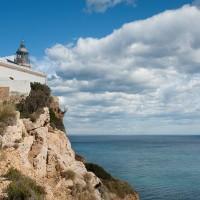 Faro del Albir en la Serra Gelada de Alicante