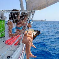 Navegando con niños. La escuela del mar