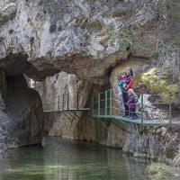 Cañón de los Arcos en Calomarde